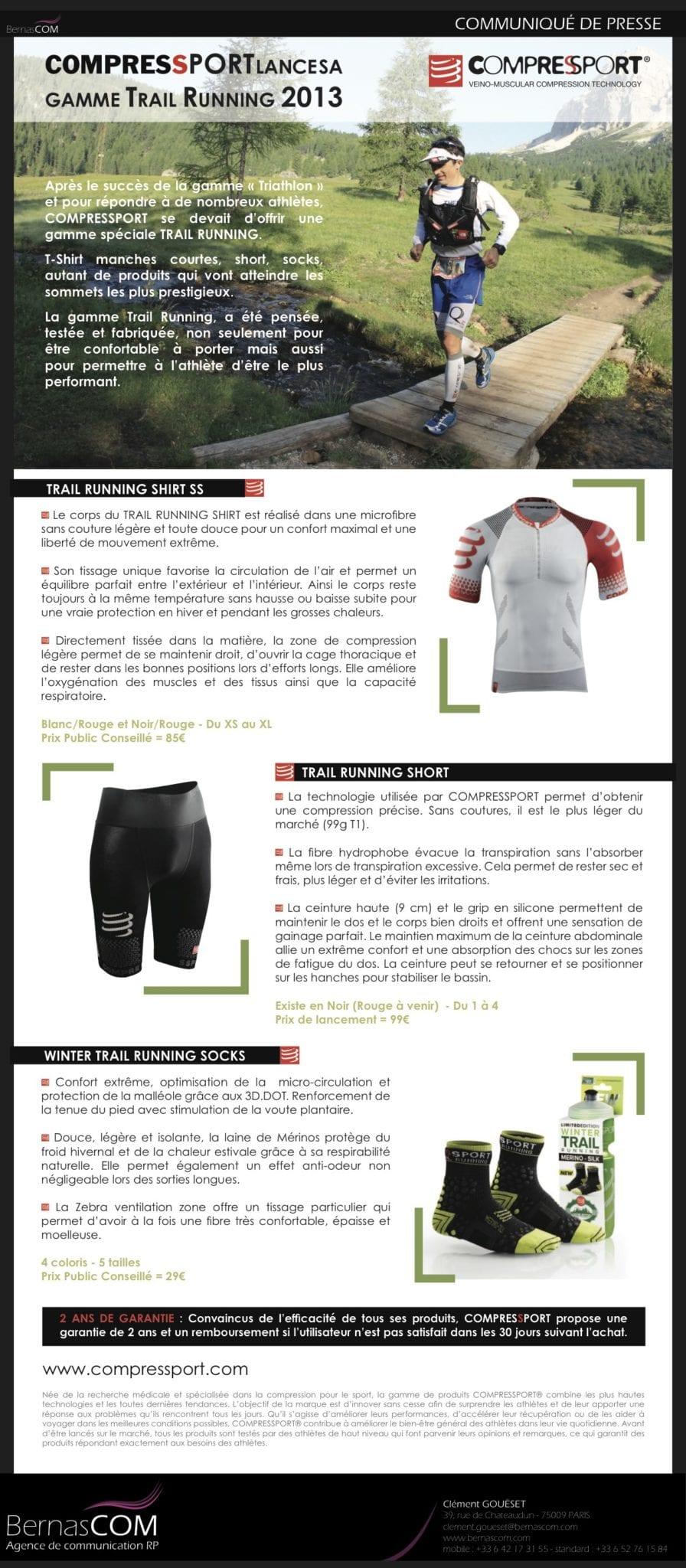 COMPRESSPORT - emailing Trail - Fev13
