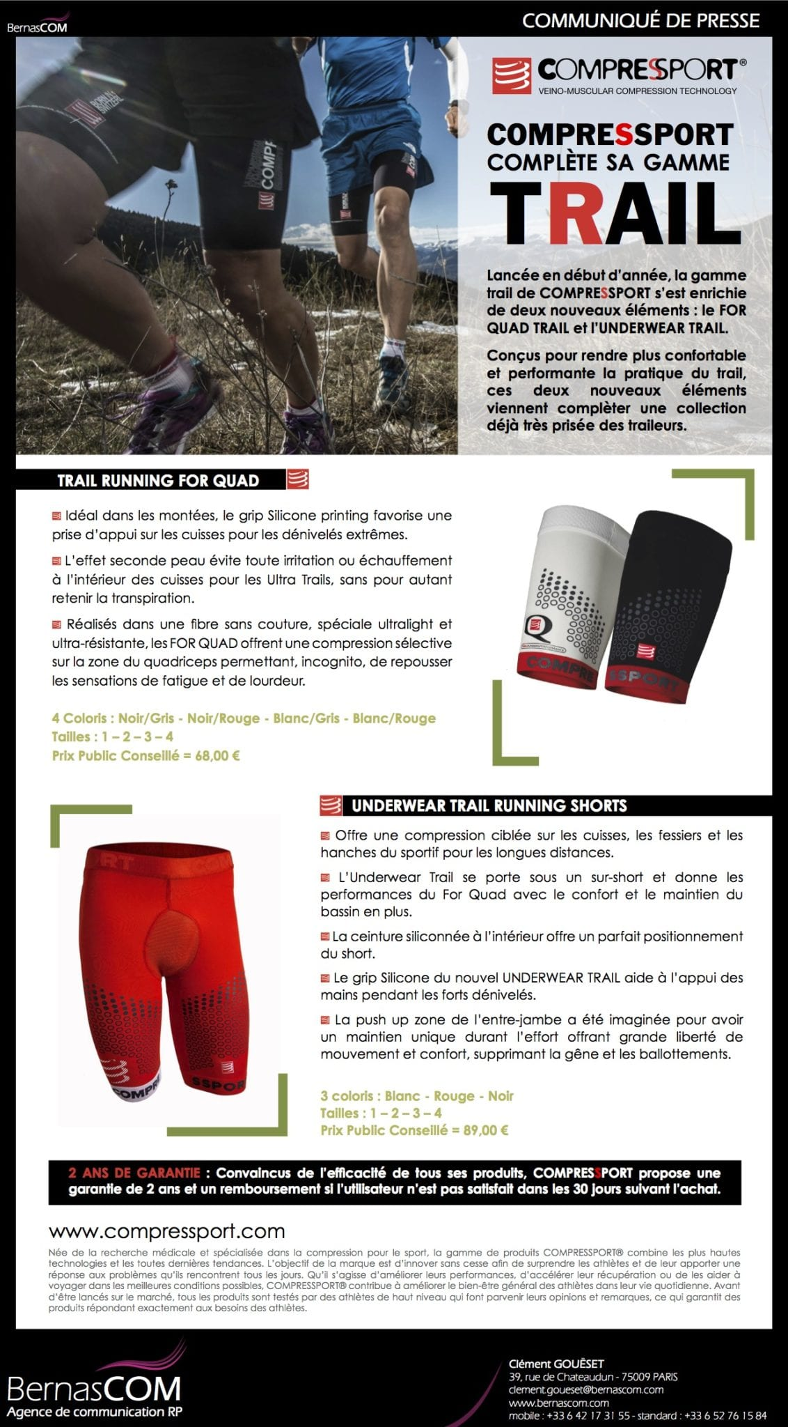 COMPRESSPORT - FORQUAD & UNDERWEAR - Aout13