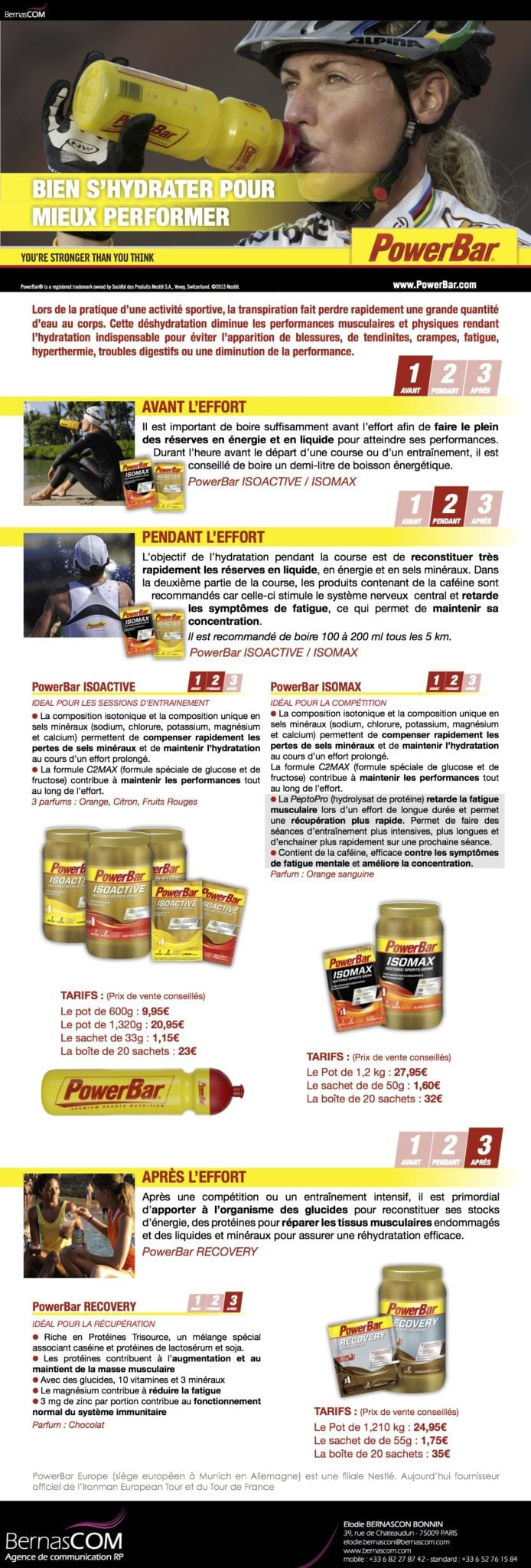 PowerBar - Hydratation - Fev13