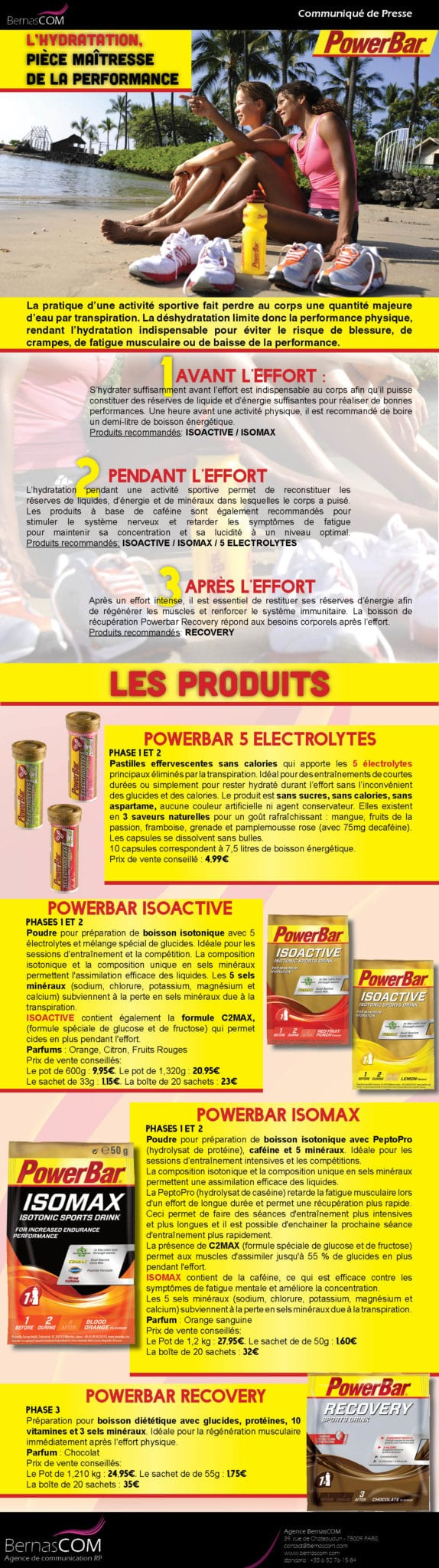 PowerBar- CP Hydratation