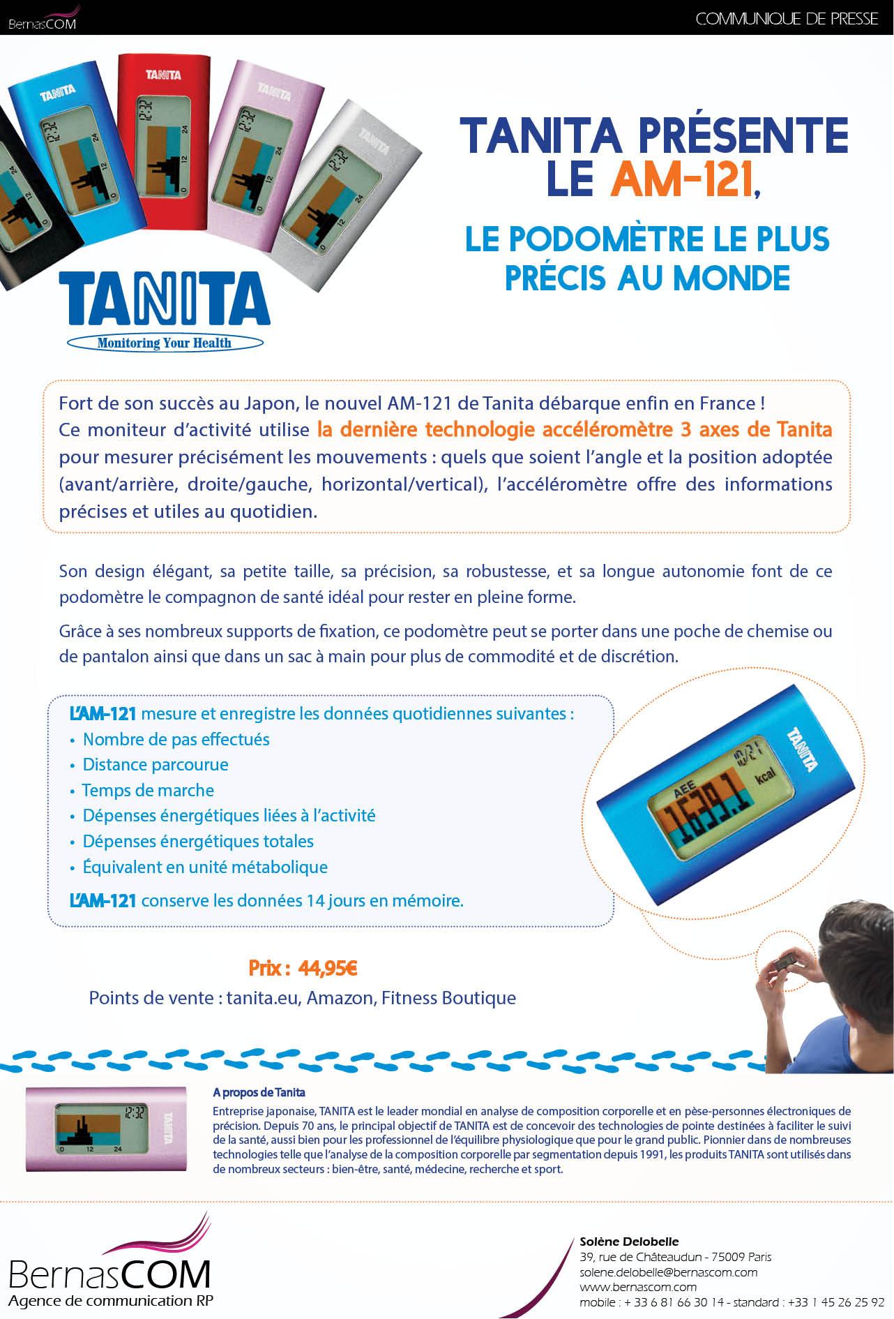 TANITA_CP-Podometre-AM121