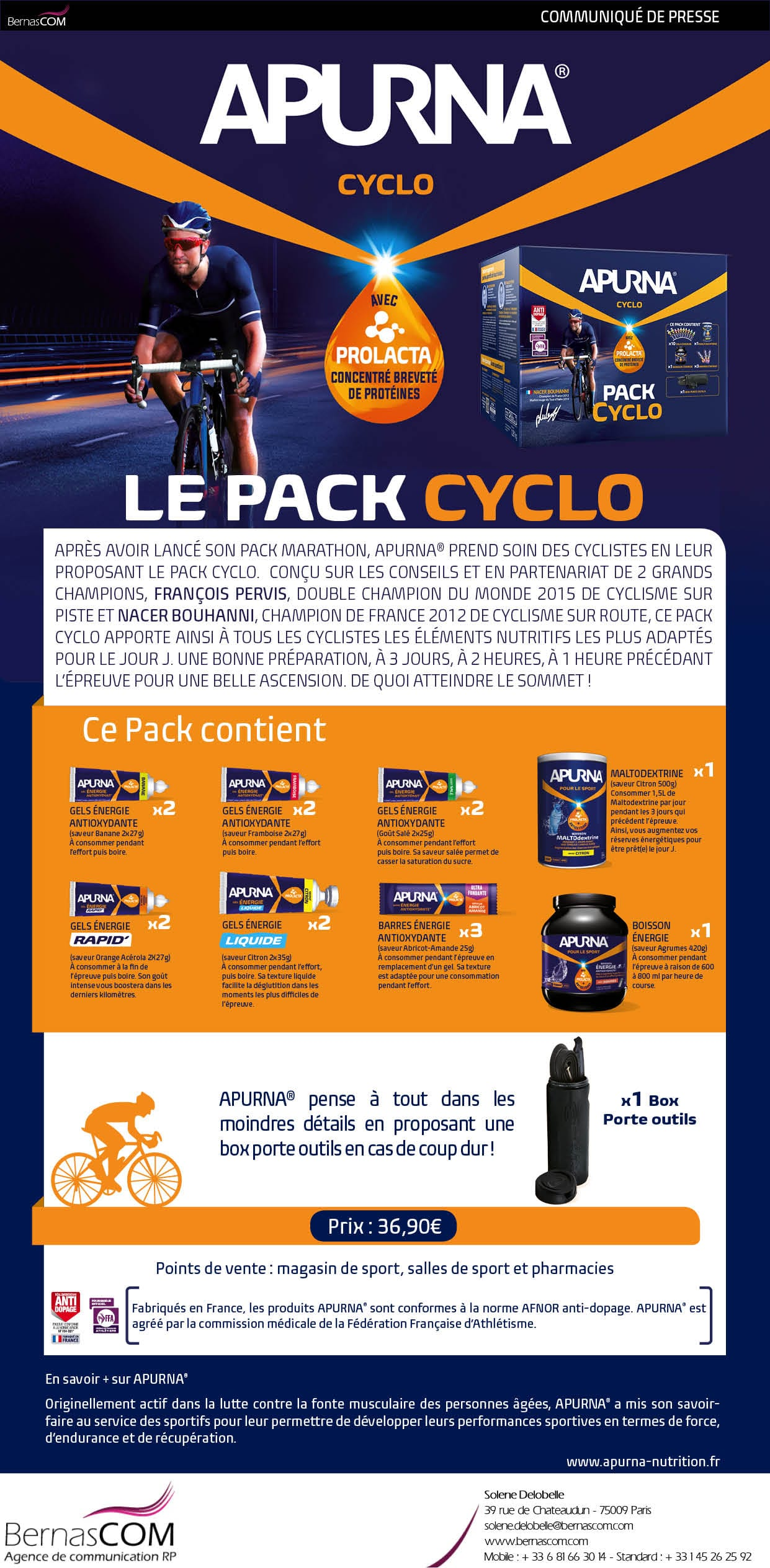 APURNA CP Pack Cyclo