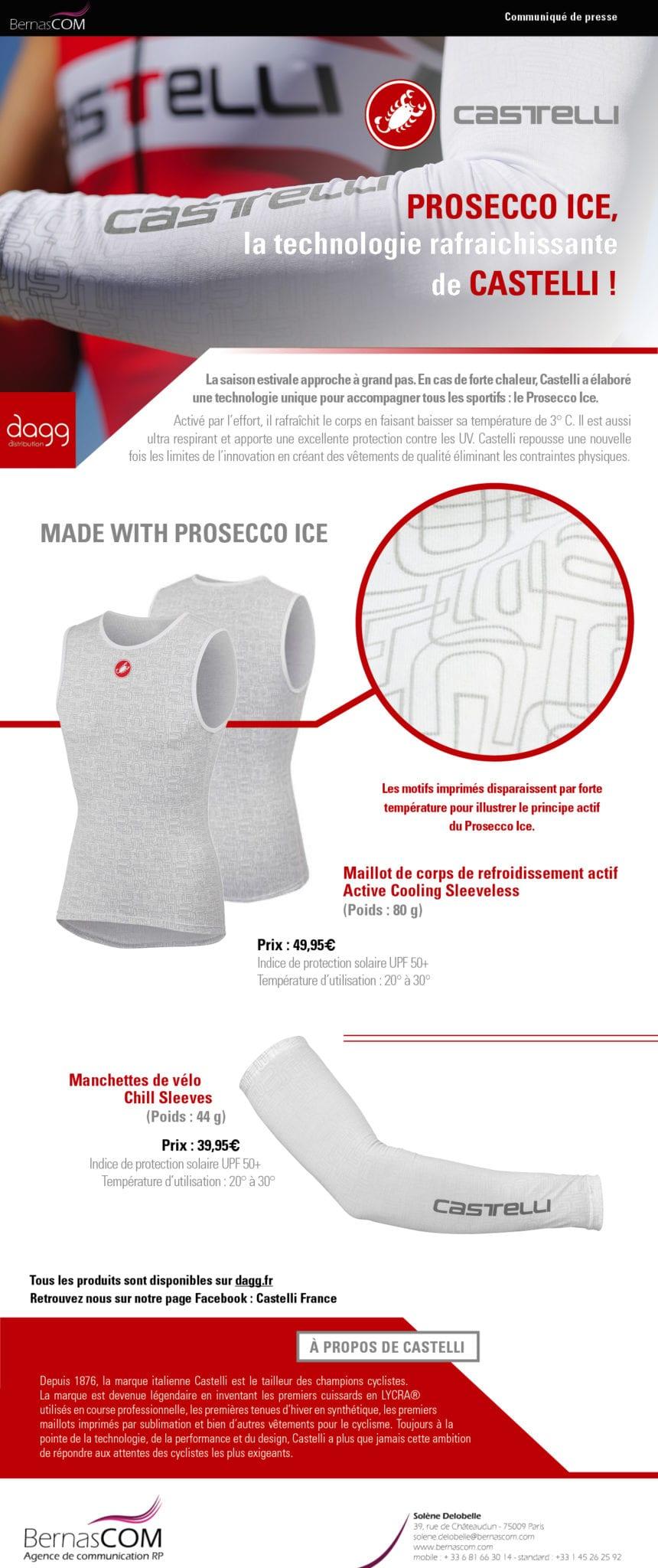 Castelli CP Prosecco Ice