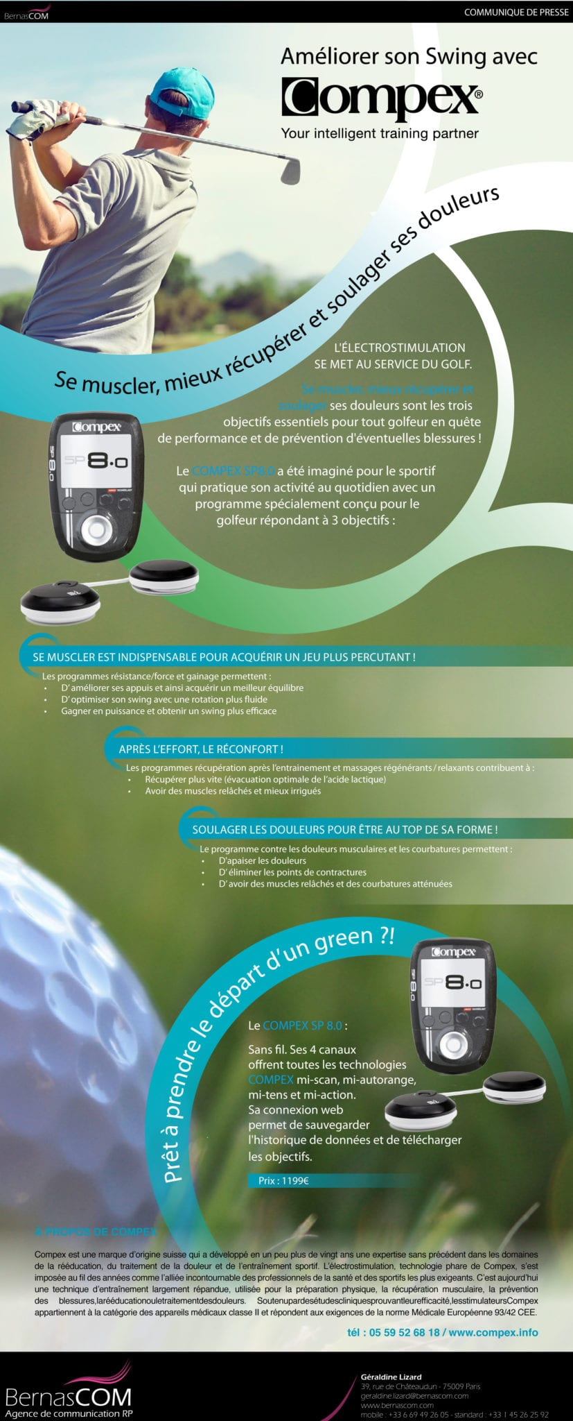 COMPEX-CP Golf
