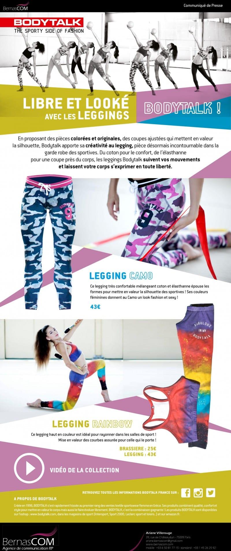 Bodytalk CP Leggings