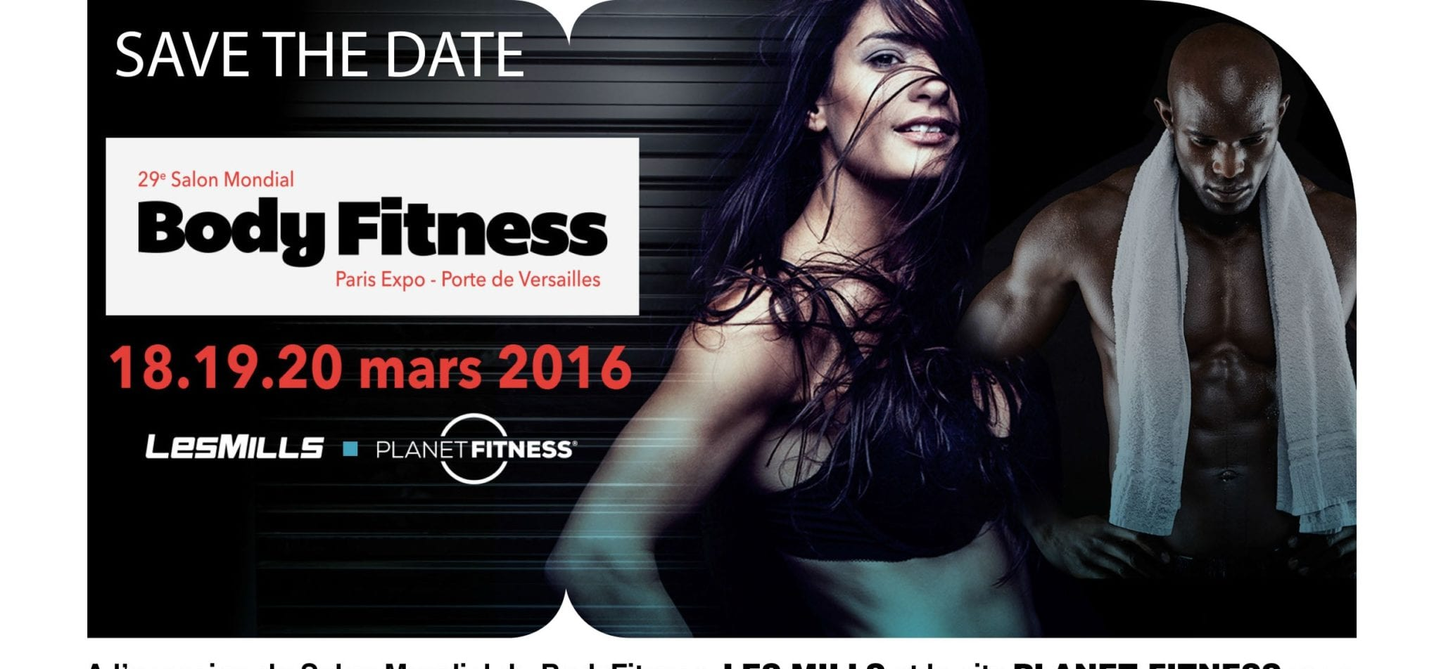 Les mills et le site planet fitness au salon mondial du for Salon body fitness