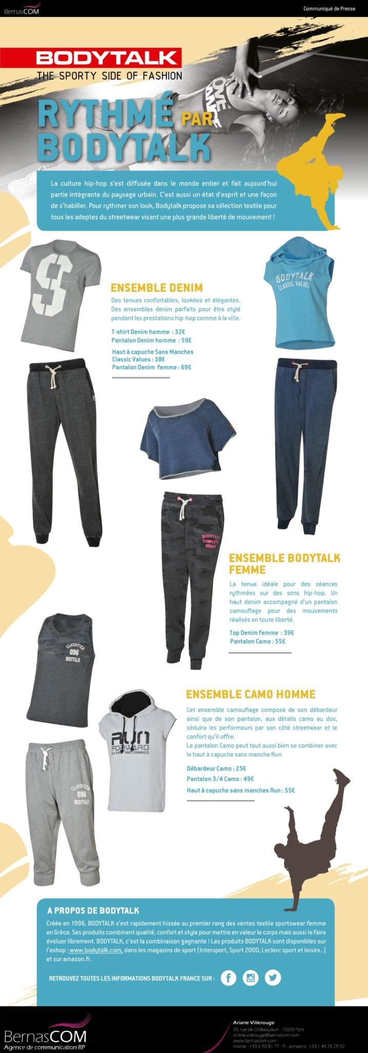 CP- BodyTalk - Streetwear