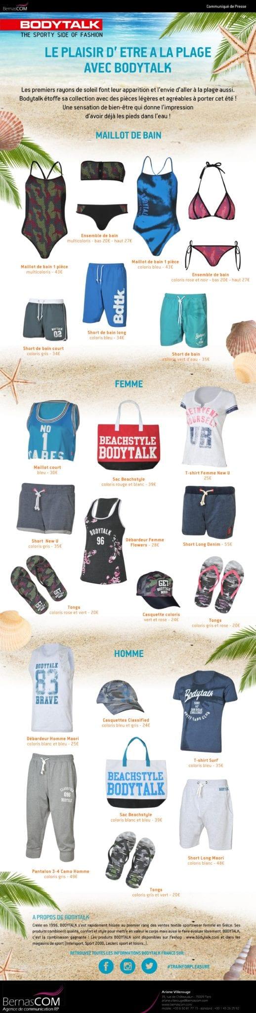 Bodytalk - CP beachwear