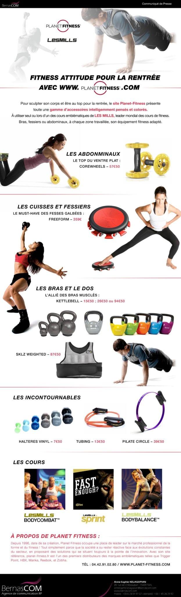 CP- La fitness Attitude de la rentrée
