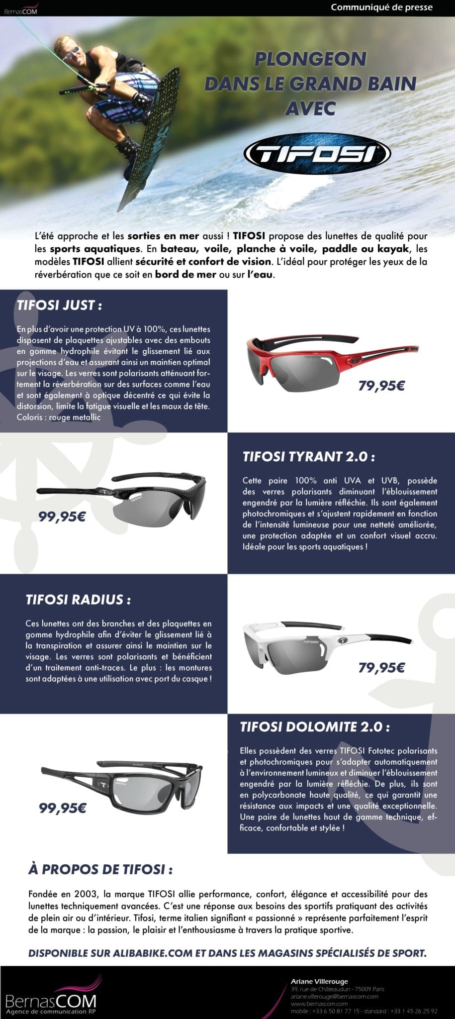 TIFOSI - CP Sports nautiques