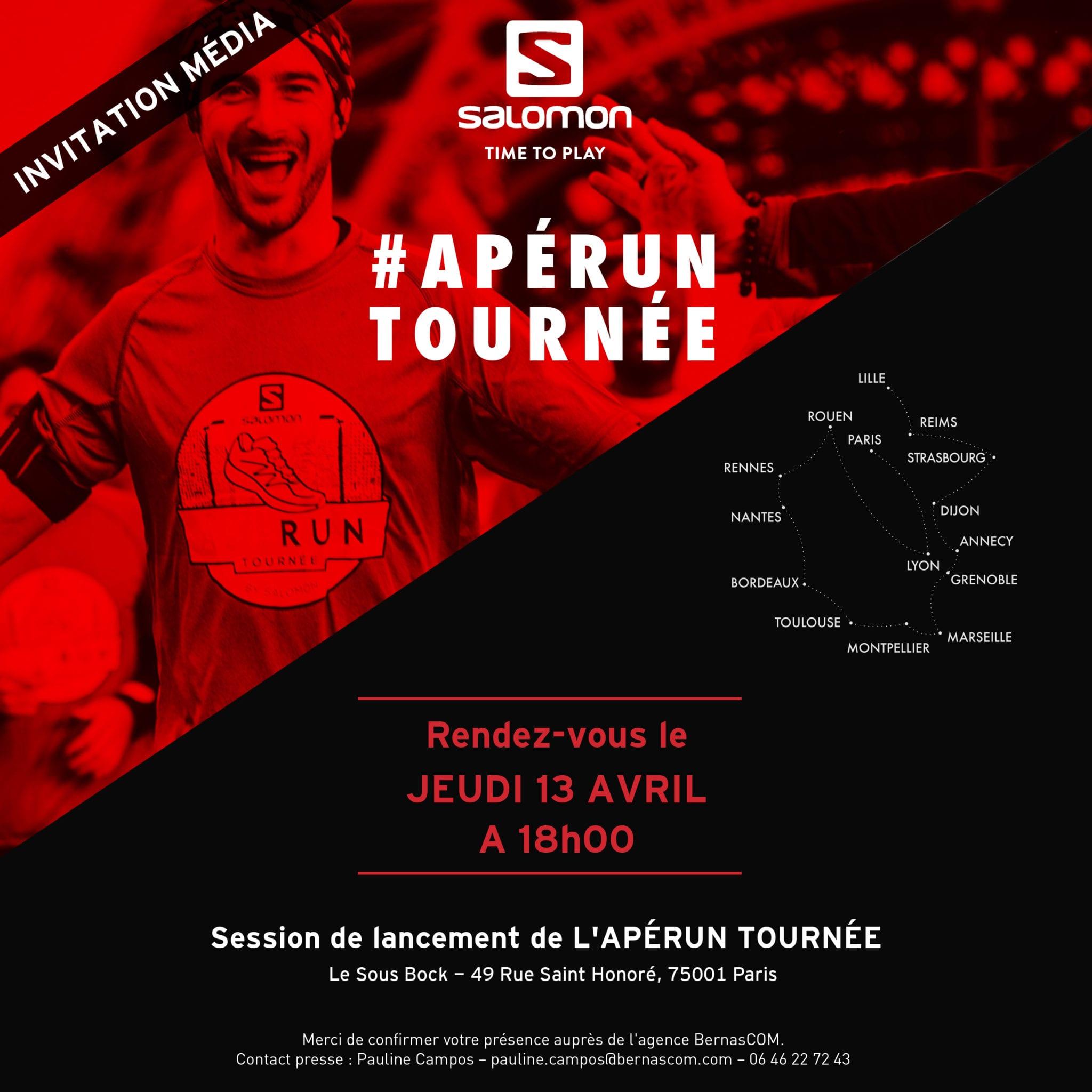 Apérun Tournée Salomon 2017 invitation
