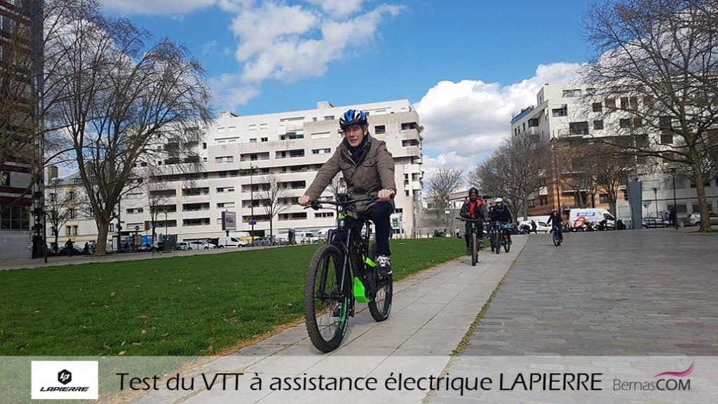 Test Overvolt vélo électrique Lapierre