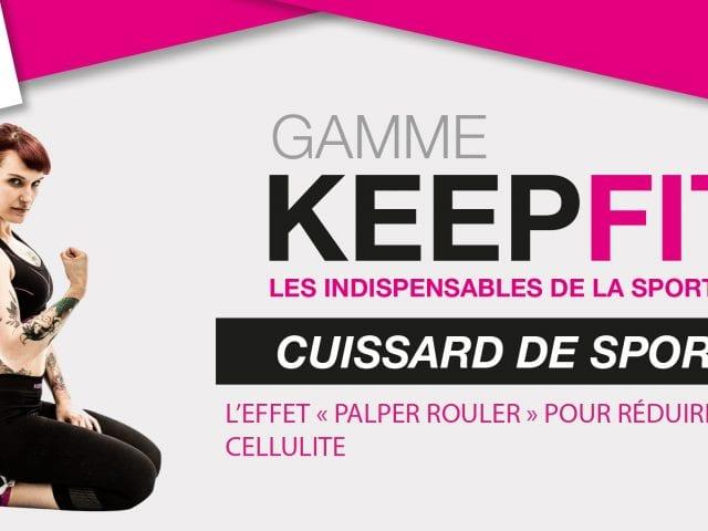 Cuissard KEEPFIT BV SPORT femme effet palper rouler reduire la cellulite