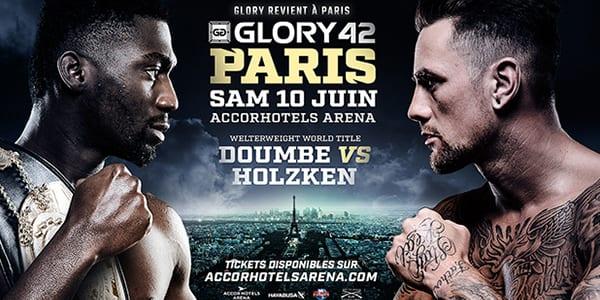 Communiqué de présentation Glory kick boxing Paris