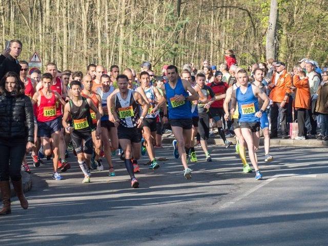 Marathon de Chantilly départ 10km