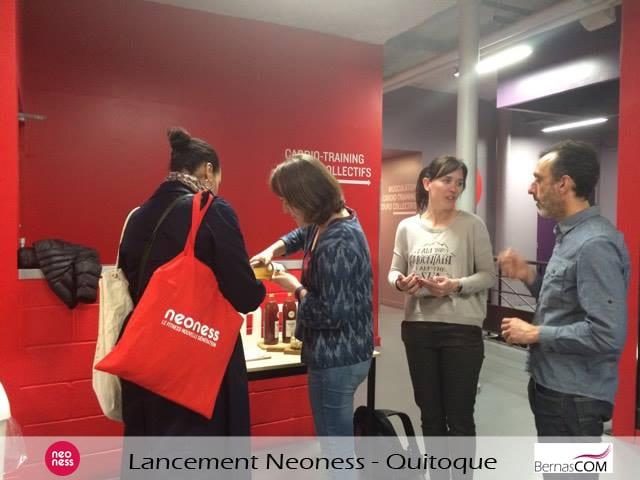 lancement partenariat Neoness Quitoque