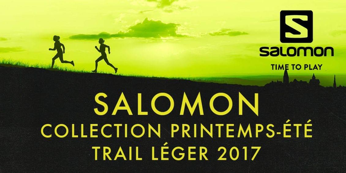 Salomon collection printemps été trail léger 2017