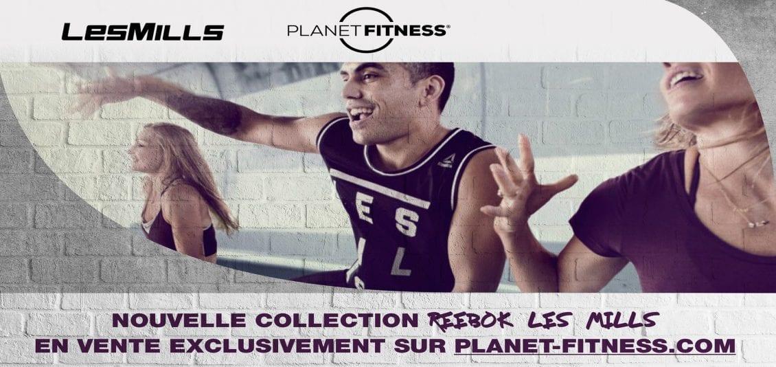 Planetfitness nouvelle collection homme et femme
