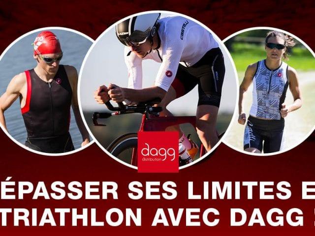 Les équipements DAGG pour le triathlon